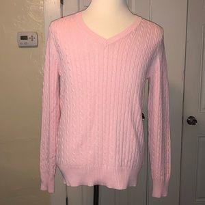 Merona Pink V-Neck Sweater